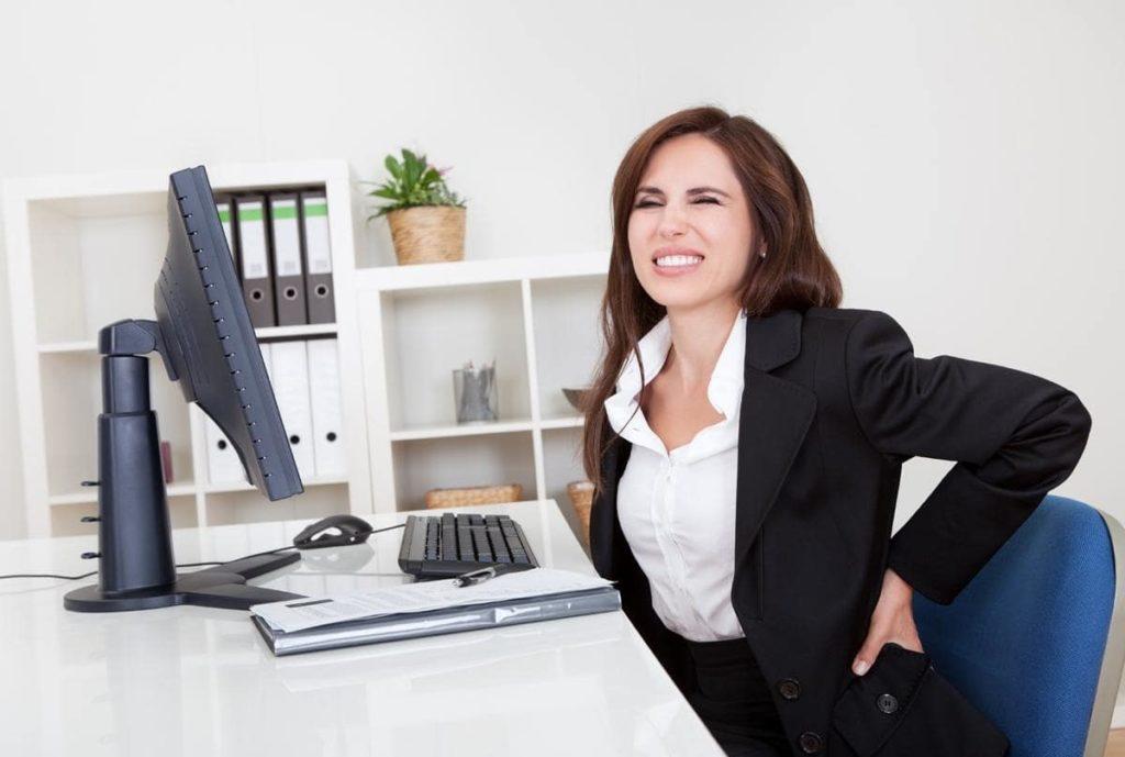 біль у спині при сидячій роботі