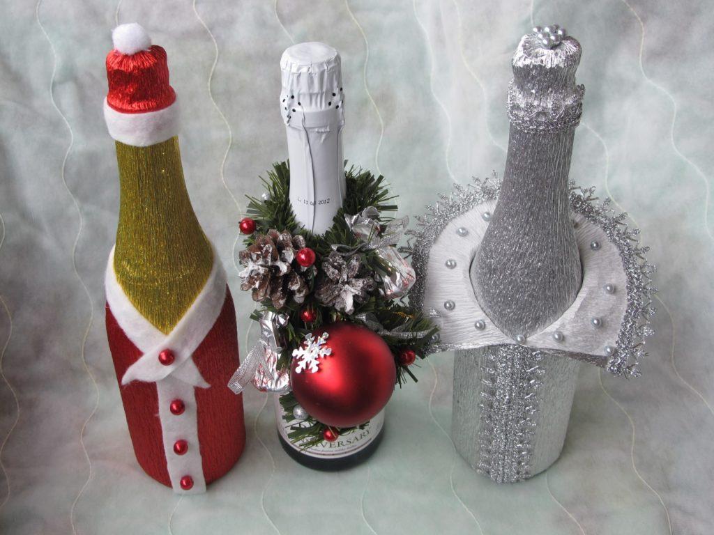 Декороване шампанське 1