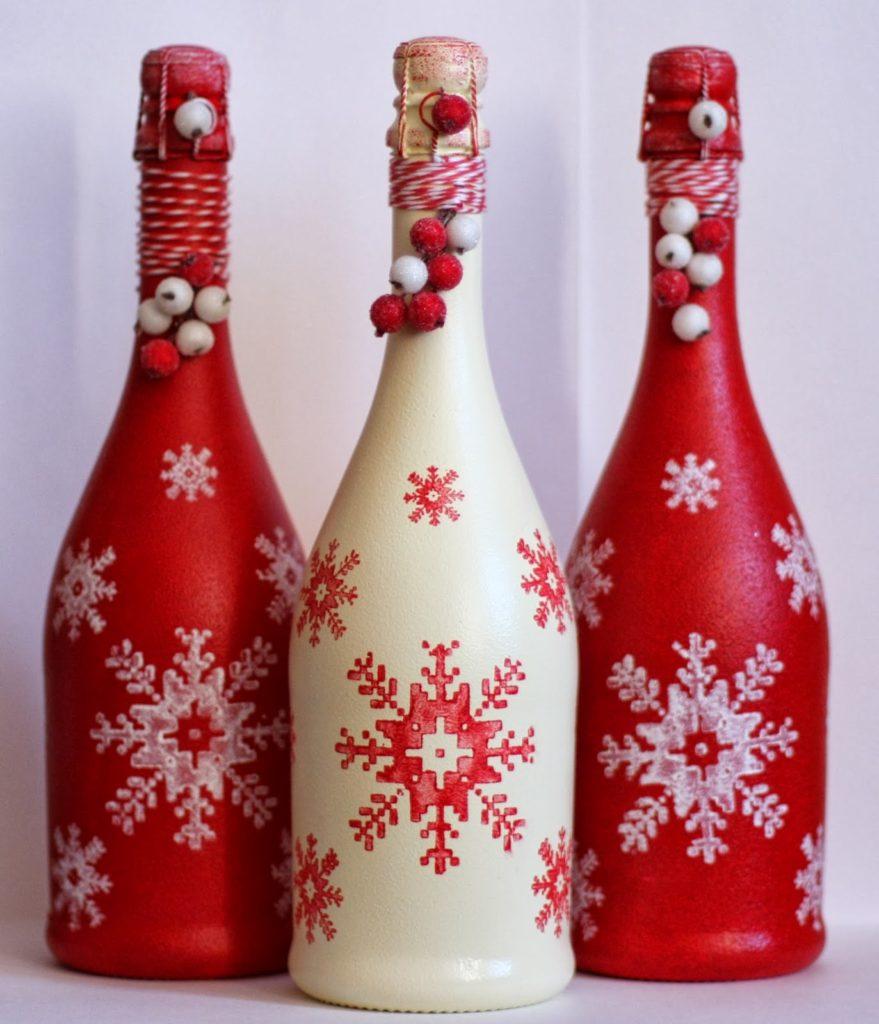 Декороване шампанське на НР