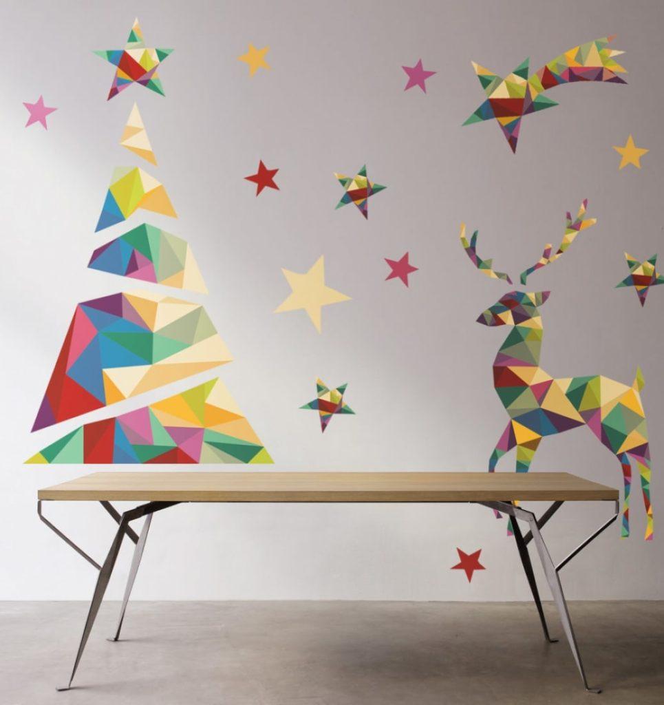 Намальована новорічна ялинка