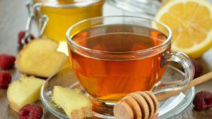 чай з лимоном